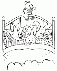 bedtime coloring pages kids coloring