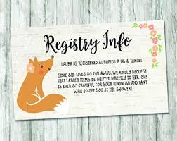 baby registry cards registry insert europe tripsleep co
