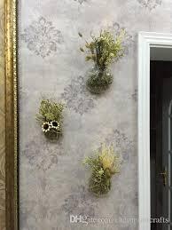 clear glass wall planter flower vase diy wall succulent terrarium