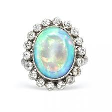 opal october our favorite vintage opal rings for october check now