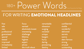 What Are Good Words To Describe Yourself 1000 Power Words That Will Make You A Social Media Rockstar