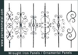 ornamental wrought iron supplies pictures to pin on