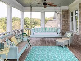 Homes With Front Porches Porch Swing Beach House Porch Swing Shingle Beach House With