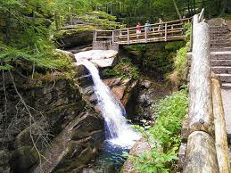 New Hampshire waterfalls images Sabbaday falls 40 foot drop waterfall waterville valley sabbaday jpg