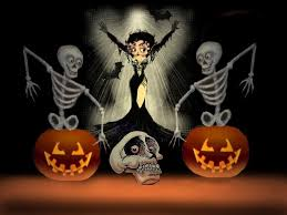 animated halloween desktop backgrounds cartoon halloween desktop wallpaper