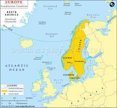 map of europe scandinavia map of scandinavian countries scandinavia map