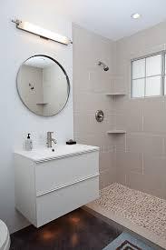 Mid Century Bathroom Vanity Midcentury Modern By Flavin - Mid century bathroom vanity light