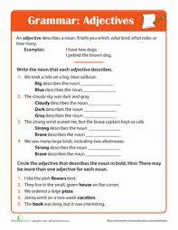 3rd grade grammar education com