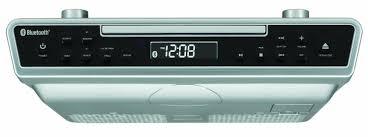 avec radio radio réveil cd à installation sous armoire avec bluetooth de