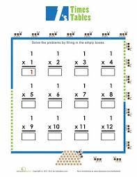free worksheets times tables print out free math worksheets