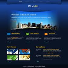 html header design online blue arc design free html css templates