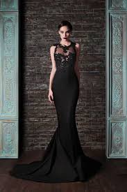 black wedding dress 25 refined black wedding dresses to stand out weddingomania