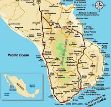 map cabo mexico the east cape mexico sport fishing fishing international