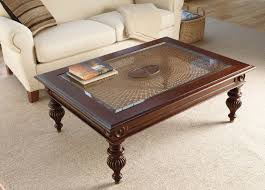 Ethan Allen Coffee Tables Brown Rectangle Country Wood Ethan Allen Coffee Tables