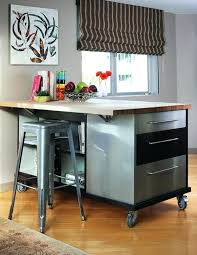 Rolling Kitchen Island With Seating Rolling Kitchen Island With Seating And Drop Leaf Kitchen Island
