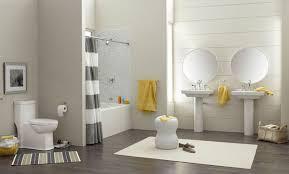 grey and yellow bathroom decor ideas