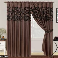 decorative functional traverse curtain rods window treatment
