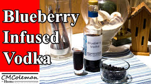 how to make blueberry infused vodka youtube