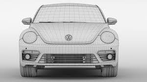 volkswagen beetle 2017 white vw beetle 2017 by creator 3d 3docean