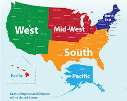 Usa Map Blank by Midwest Maps Midwestern United States Wikipedia Maps United
