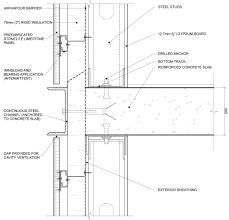 curtain wall slab detail google search detailing pinterest