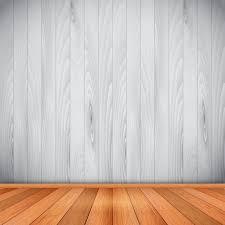 empty room with wooden floor and wall vector free