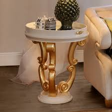 Gold Side Table High End Modern Italian Gold Side Table Juliettes Interiors