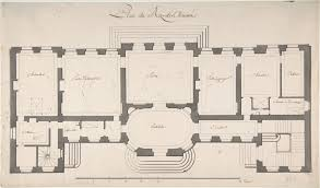 Met Museum Floor Plan by Degana Ground Plan For A Palace The Met