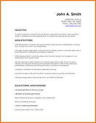Collection Resume Sample by Child Care Resume Sample No Experience Gallery Creawizard Com
