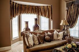 black drum l shade fantastic curtains for living room with brown furniture decor with