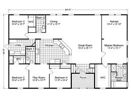 1 Bedroom Modular Homes by Sierra Iii Tl40644b Manufactured Home Floor Plan Or Modular Floor
