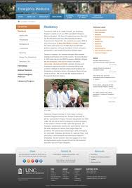 internal page color banner u2014 of medicine web redesign project
