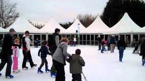 ice skating at van hage garden centre part 2 youtube
