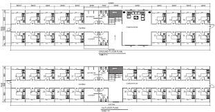 Dormitory Floor Plans Dormitory 40 Rooms Pacific Building Company