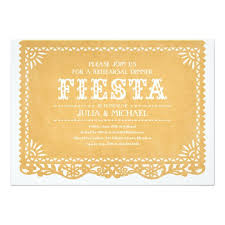Rehearsal Dinner Invitations Fiesta Rehearsal Dinner Invitations Zazzle Com