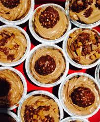 ferrero rocher and nutella cupcakes u2013 domestic food goddess