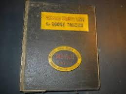 1959 dodge truck parts 1959 dodge m series truck parts catalog manual in vintage mopar