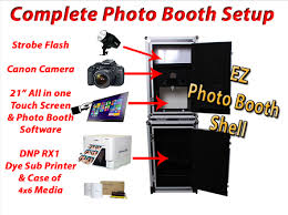 photobooth printer turn key portable ez photo booth system