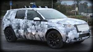 new land rover defender spy shots 2015 land rover lr2 spy shots youtube