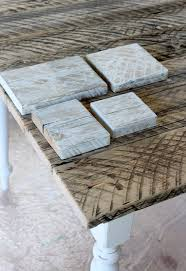 White Washed Kitchen Table by Whitewashed Reclaimed Wood Dining Table Satori Design For Living