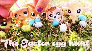 littlest pet shop easter eggs lps easter egg hunt special
