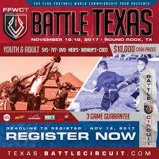 Flag Football Set For Adults 2017 Battle Texas Ffwct