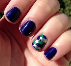 miscellaneous manicures blue and green fish tail nails