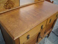 large mirrored tiger oak buffet edt painting pinterest
