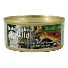 taste of the wild rocky mountain canned cat food cat food at