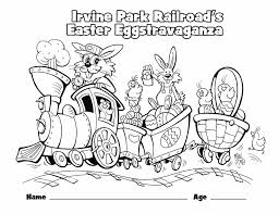 children u0027s coloring irvine park railroad
