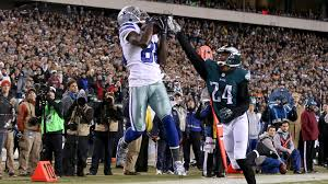 eagles vs cowboys on thanksgiving dez bryant hauls in three tds in cowboys u0027 signature nfc east win