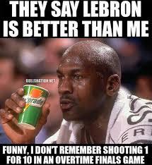 Meme Jordan - michael jordan lebron james meme