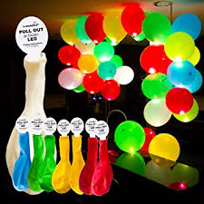 plans led light up balloons funsparks led balloons 8 balloons mixed colors