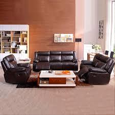 ensemble canapé 3 2 ensemble canapé 3 2 1 manuel en cuir brun foncé lh 905b